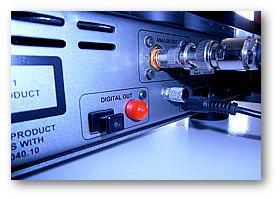 Phonosophie RCA-Cap am CD-Player